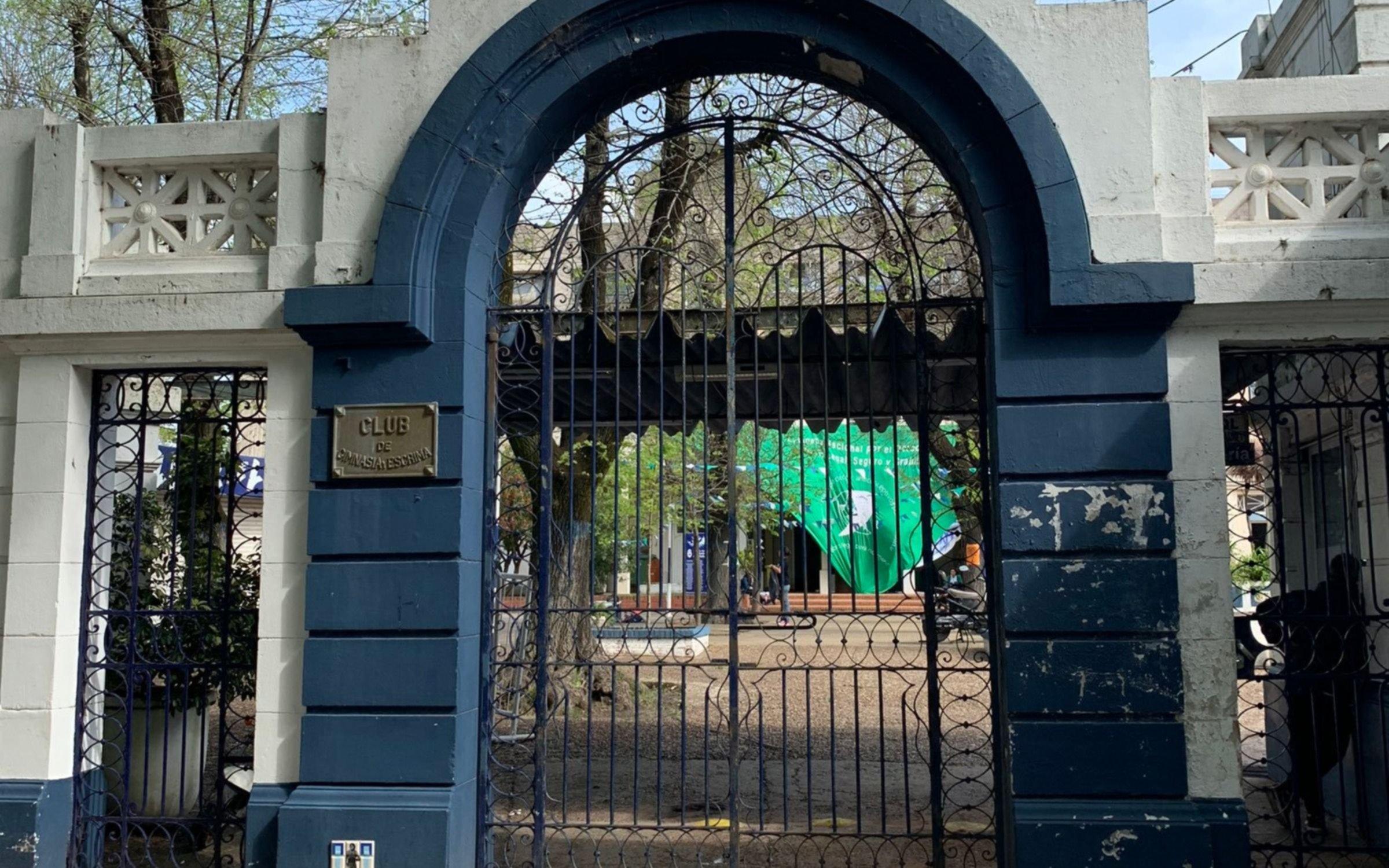 EMN: el pañuelo verde gigante que se desplegó en el Estadio del Lobo