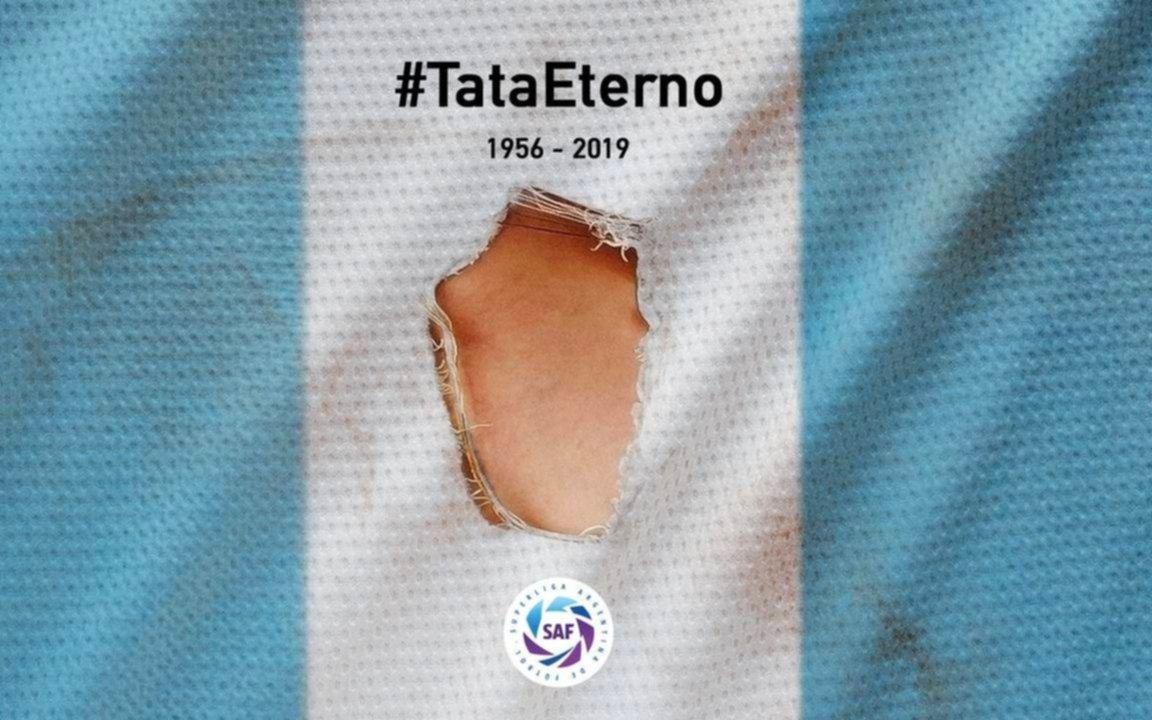 Superliga entregará a la familia de Brown, las camisetas utilizadas para su homenaje