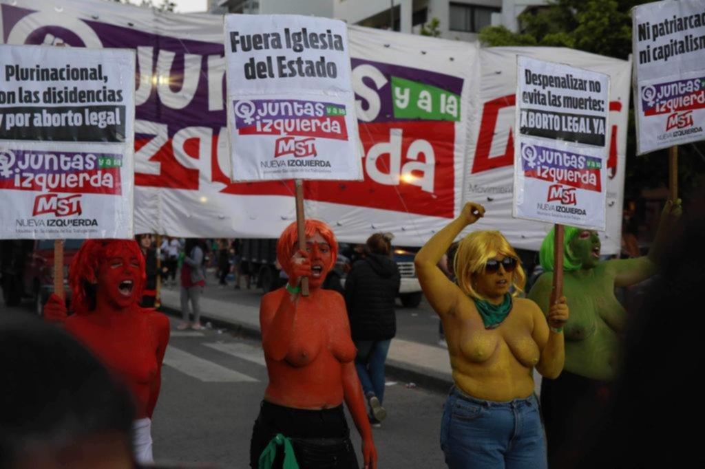 Los colores que atravesaron la Ciudad en la previa del pogo feminista más grande de todos