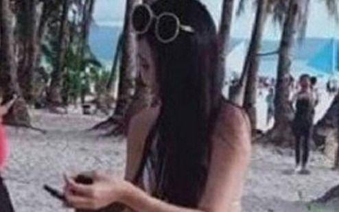 Mirá el diminuto bikini por el que multaron a una turista en una isla de Filipinas