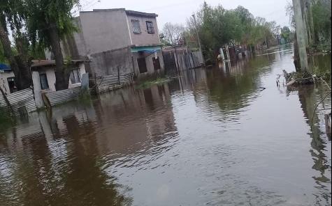 Hay más de 5.000 evacuados en La Matanza tras las inundaciones del sábado