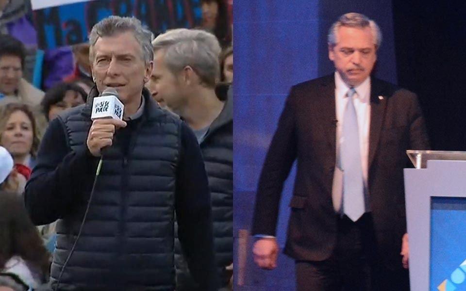 Macri y Fernández continuaron el debate con declaraciones cruzadas