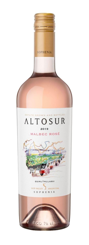 Finca Sophenia presenta Altosur Malbec Rosé 2019