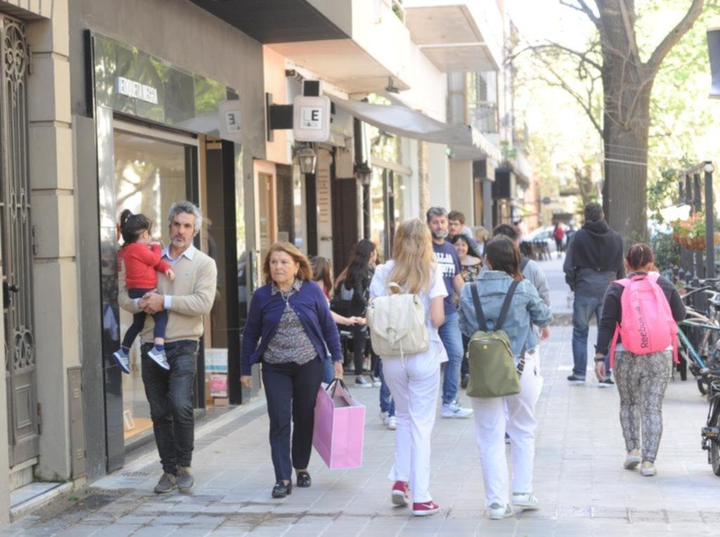 El Centro revive con las compras de última hora por el Día de la Madre