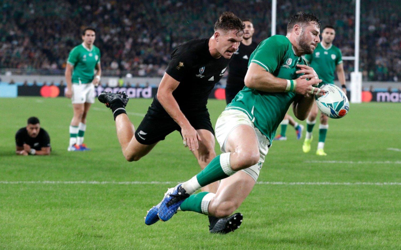 Mundial de rugby: Nueva Zelanda goleó a Irlanda y jugará en semifinales con Inglaterra