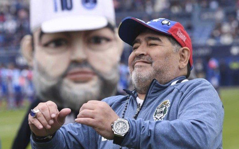 Ni siquiera disfrutar a Maradona