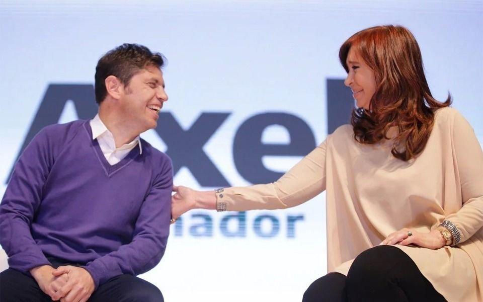 Cristina y Axel Kicillof cierran la campaña bonaerense en el Bosque