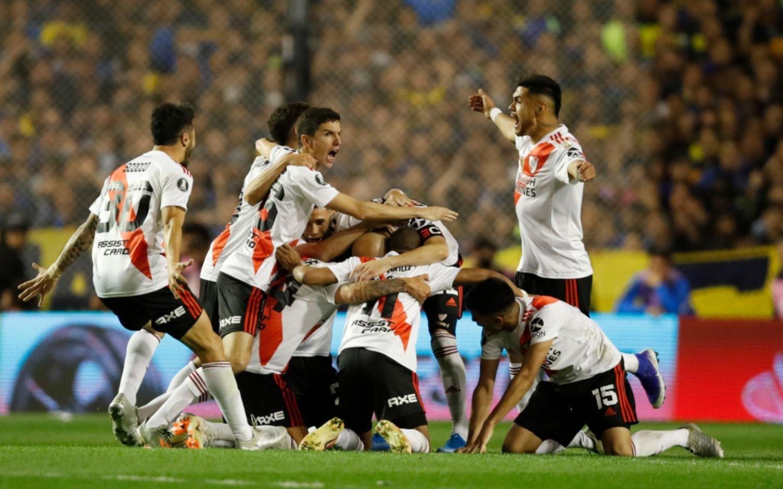 Boca se impuso en la Bombonera pero el festejo fue para River, que jugará una nueva final de América