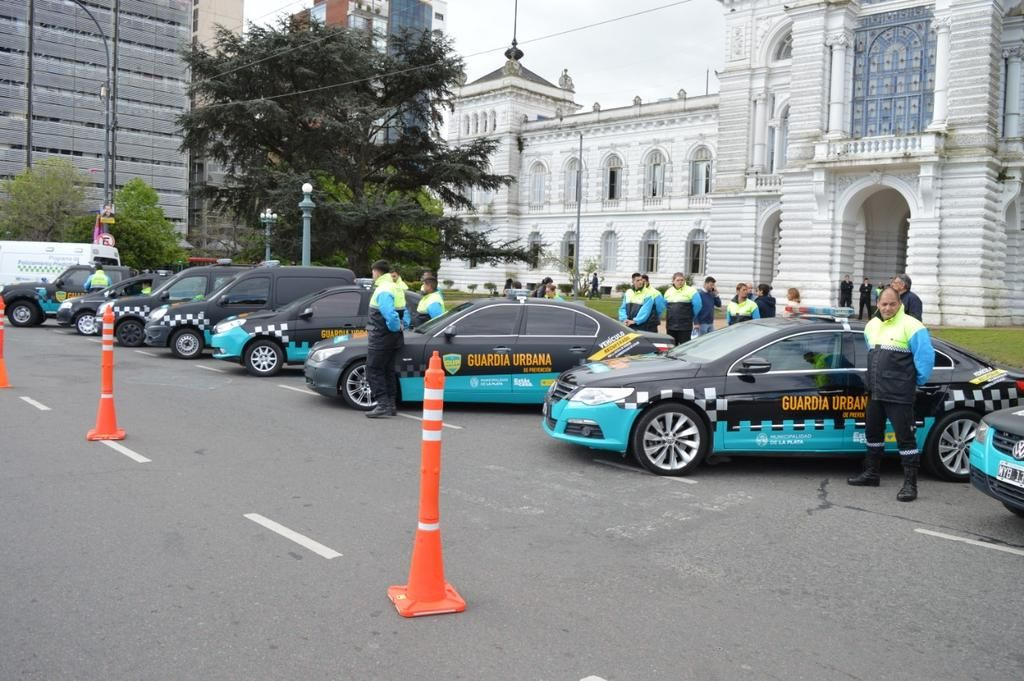 Autos confiscados en operativos se transformaron en patrulleros