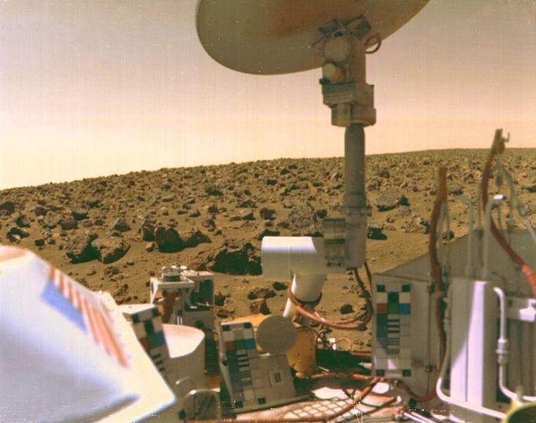Un científico de la NASA afirma que encontraron vida en Marte en la década de 1970
