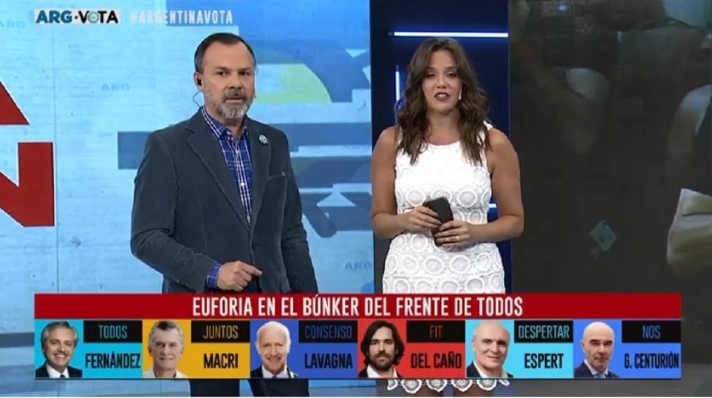 C5N lo hizo de nuevo: fue el canal más visto durante las elecciones