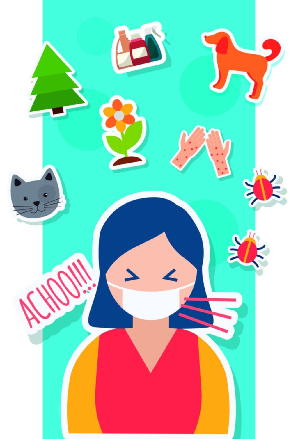 Tendencias: primavera y alergias, temporada de estornudos