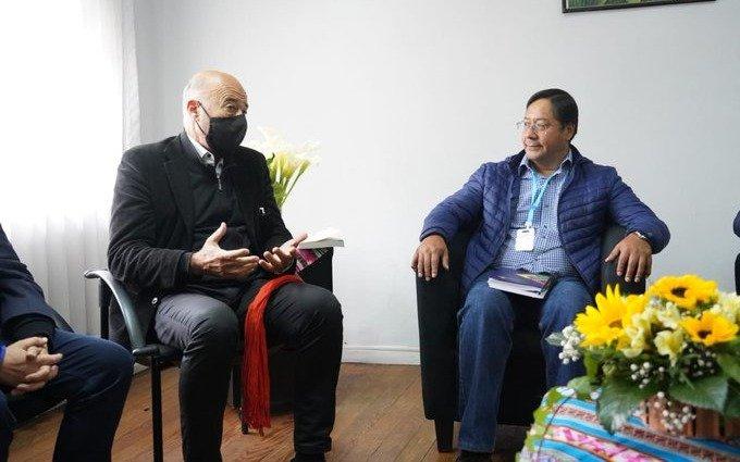 """El candidato del MAS condenó el """"maltrato"""" al diputado argentino retenido en Bolivia"""