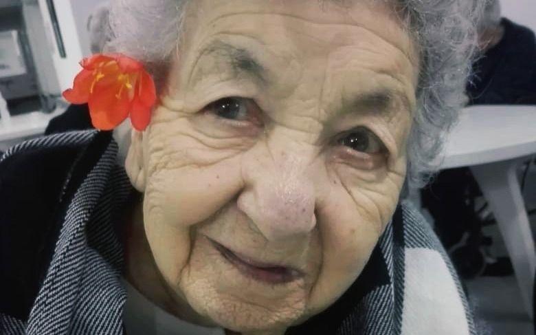Violeta, la jubilada platense de 91 años que dio positivo de coronavirus por segunda vez