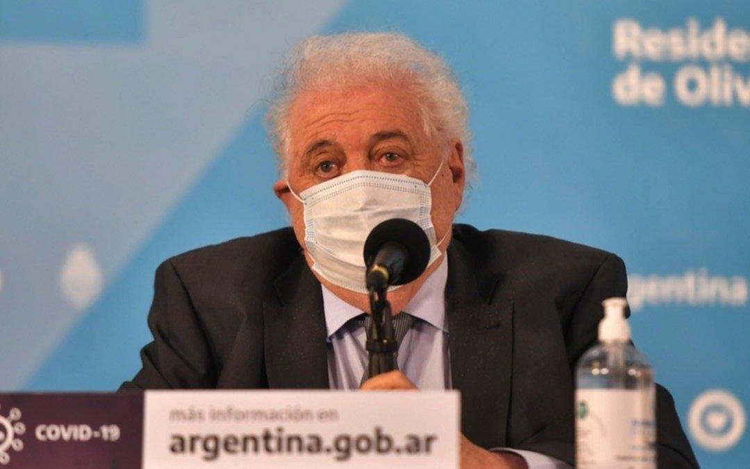COVID: Ginés González García responsabilizó a las provincias por la desconfianza de Oxford a los datos del país