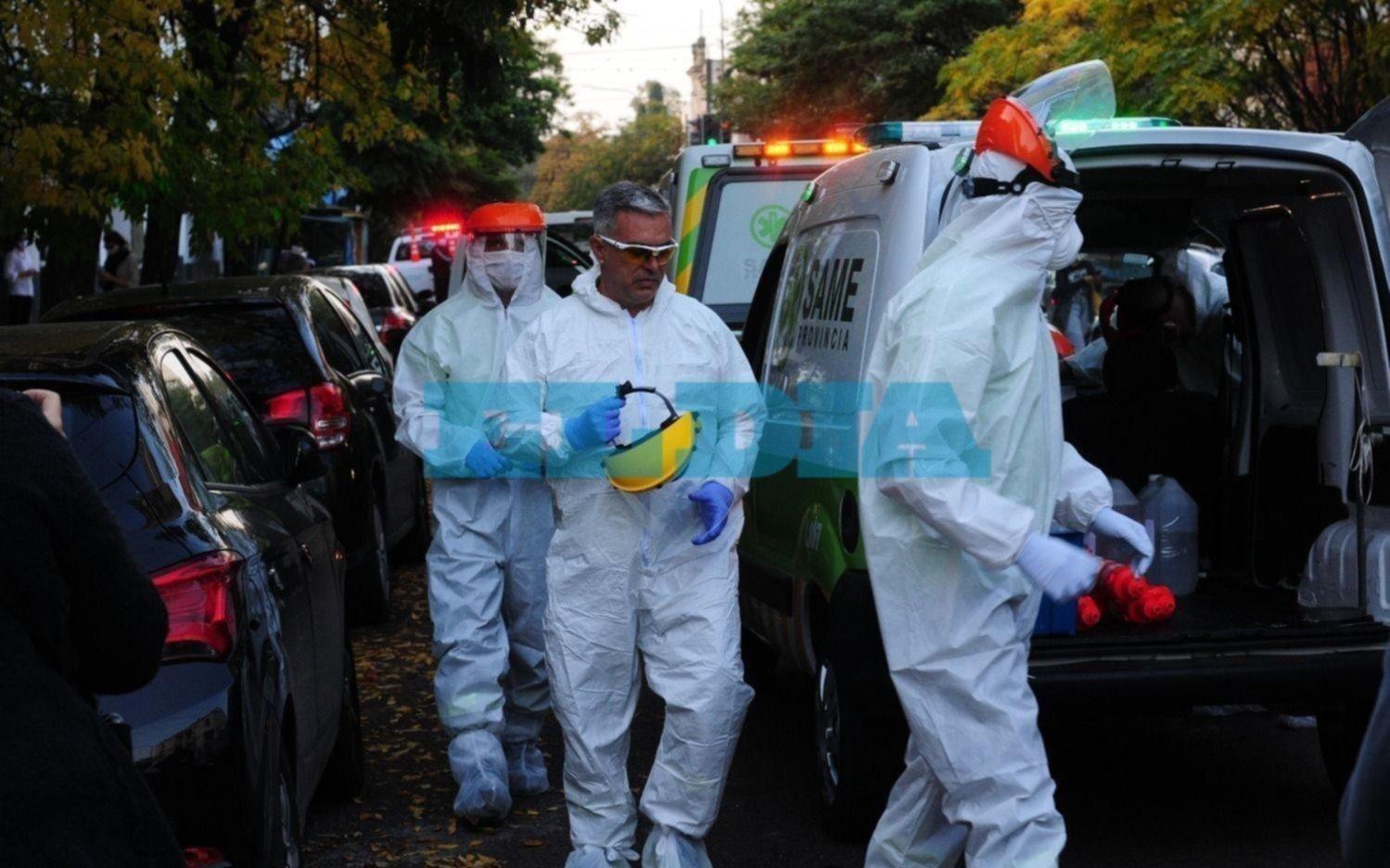 COVID-19 en La Plata: tres muertes y otros 202 casos este miércoles
