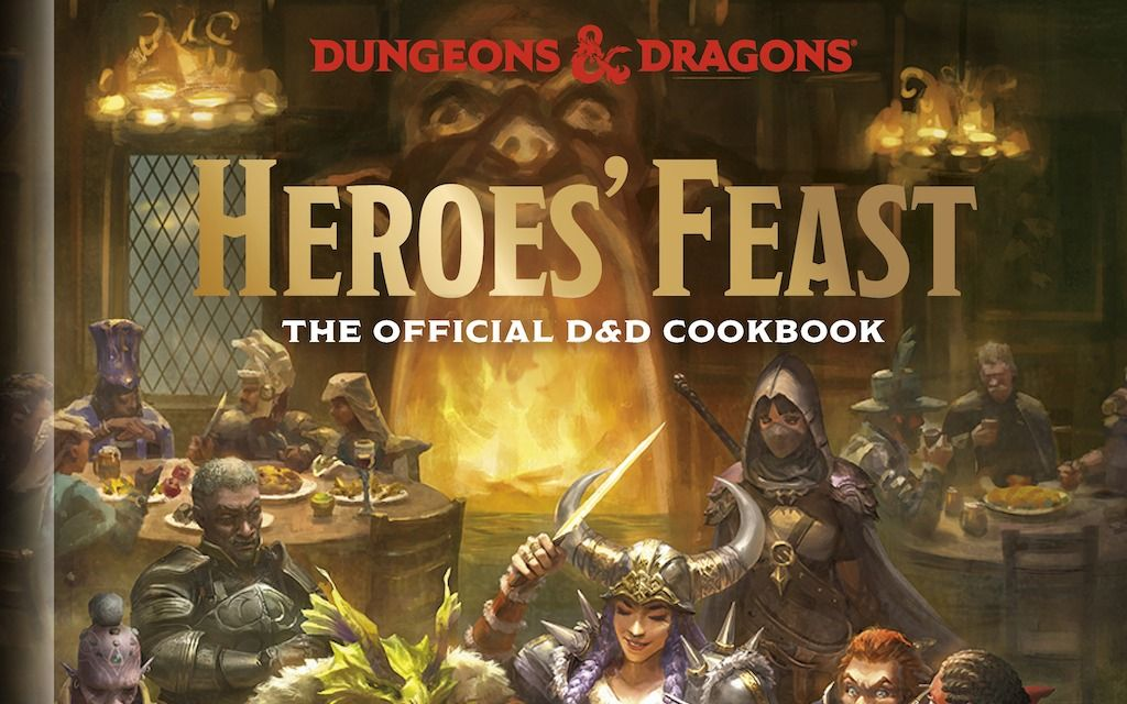 """Así es el libro de cocina de Dungeons & Dragons, """"El banquete de los heroes"""""""