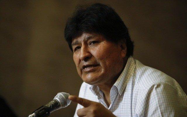 Evo Morales viajó esta tarde a Caracas