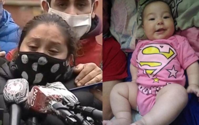 Inhuman los restos de la beba de cinco meses asesinada tras un tiroteo en Dock Sud