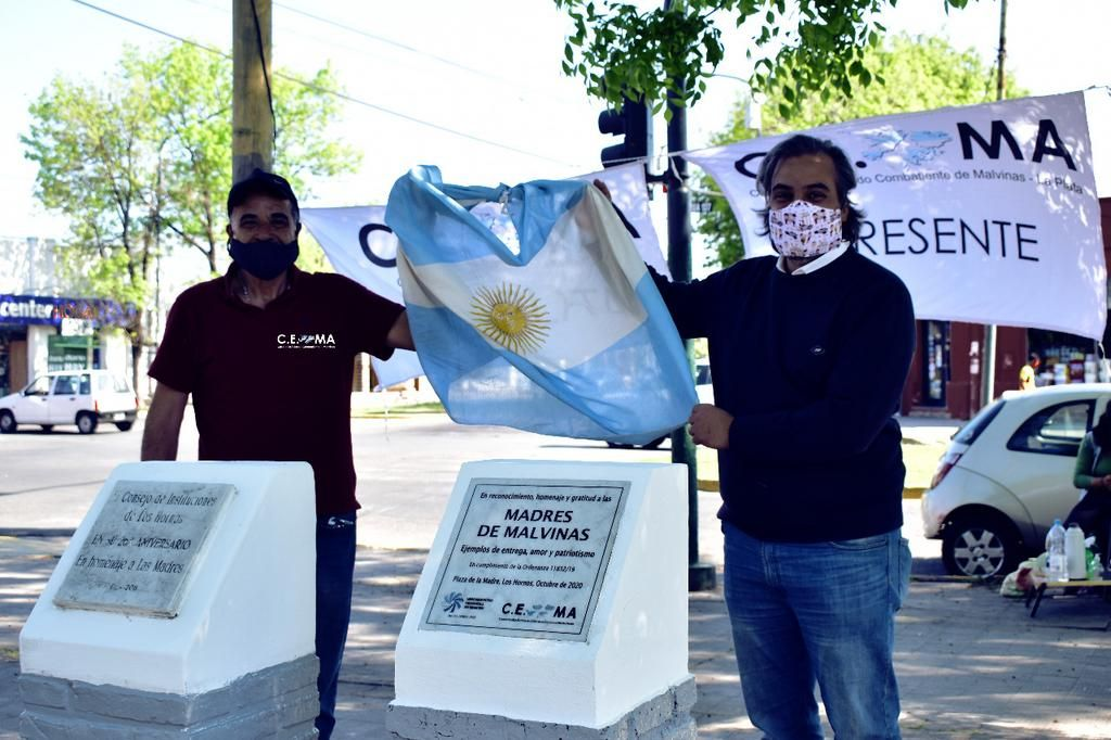 Con homenajes, ex combatientes multiplican el recuerdo de Malvinas