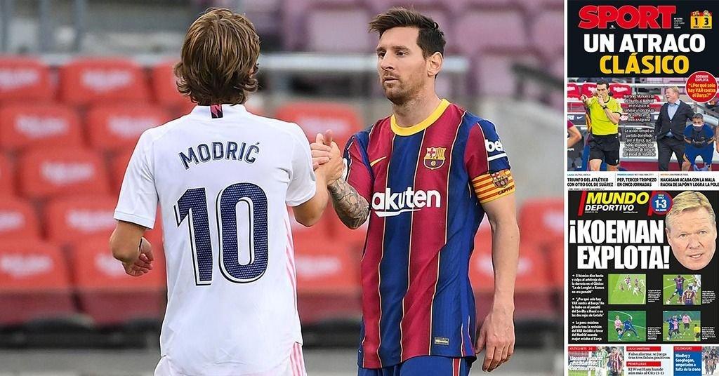 Messi y su Barça sufrieron el clásico y ni el VAR lo disimuló: ¿fin de una era?