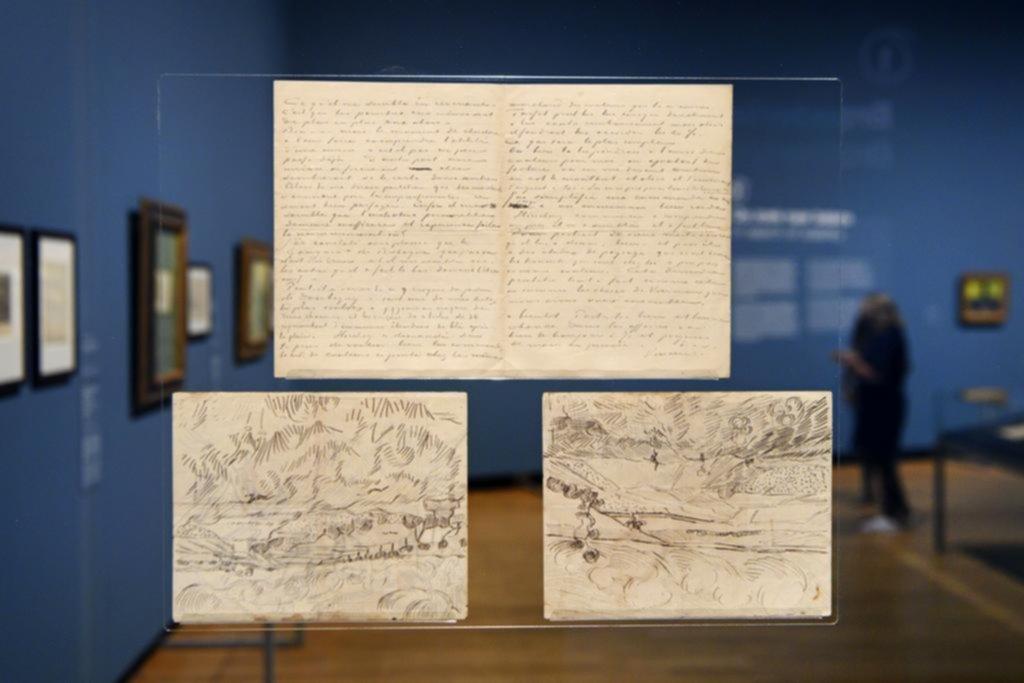 Van Gogh, una vida en cartas llenas de bocetos y confesiones