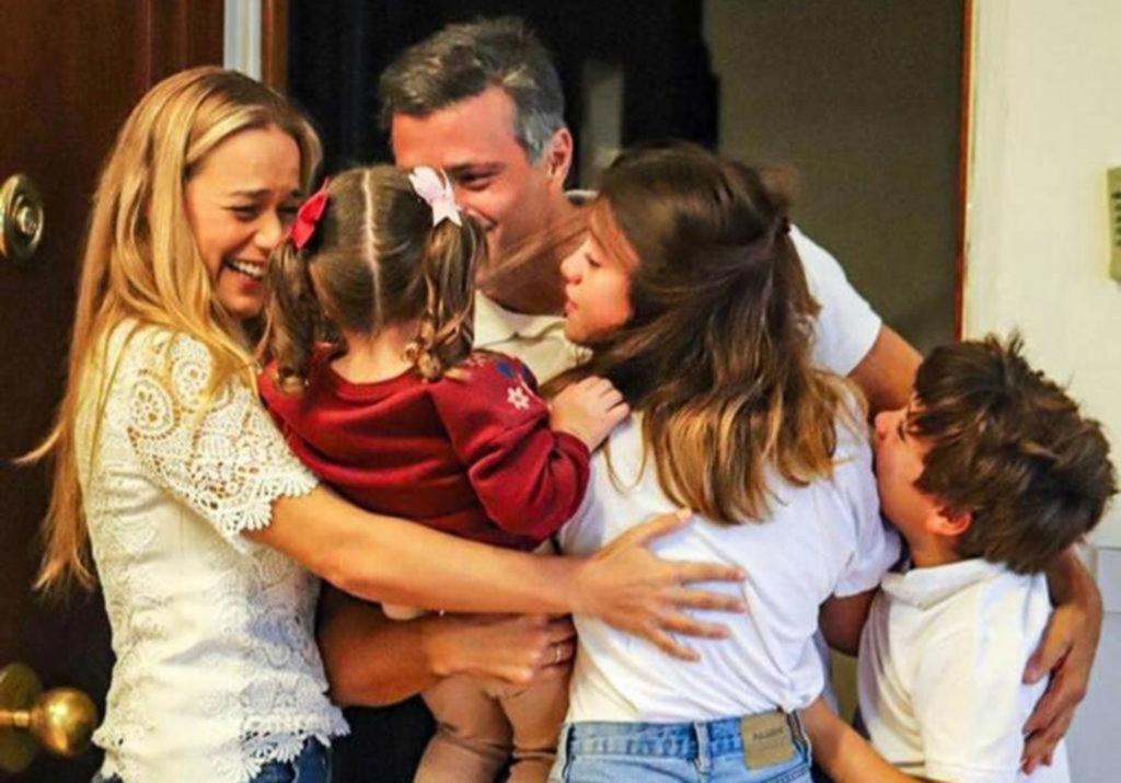 Leopoldo López ya se instaló en Madrid y la oposición venezolana se burló de Maduro