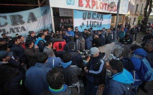 El conflicto interno en la UOCRA platense paraliza la mayoría de las obras en la Ciudad