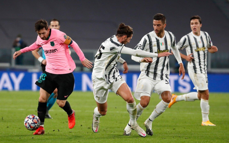 Con un gol de Messi, Barcelona le ganó 2-0 a la Juventus y encamina su clasificación a octavos