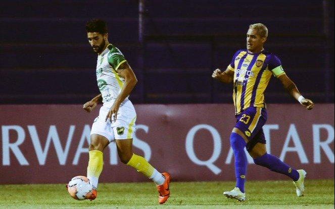 Defensa y Justicia venció en Paraguay a Sportivo Luqueño por la Copa Sudamericana