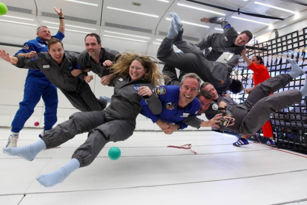 Un concurso para saber lo que se vive en un viaje al espacio