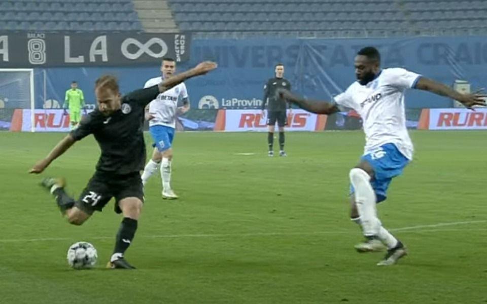 VIDEO.- El gol de Bautista Cascini para el triunfo del Academica Clinceni
