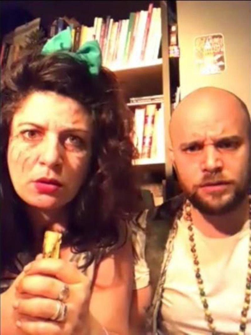 """""""Bicha"""": una comedia de terror sobre una pareja perseguida por lo paranormal en plena cuarentena"""