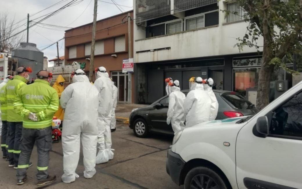 Seis fallecidos en La Plata con coronavirus y 84 nuevos casos