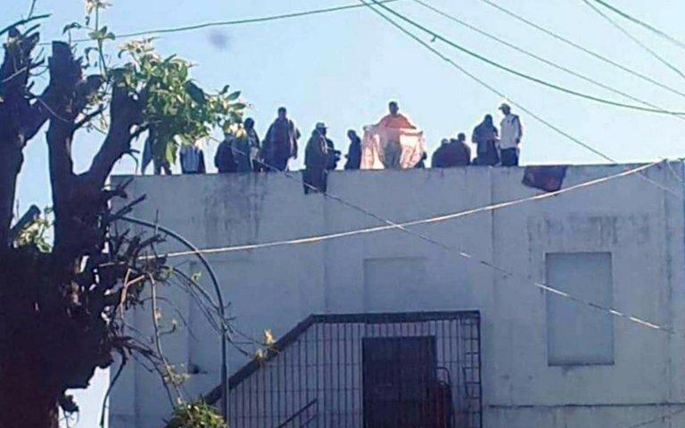 Tensión en la cárcel de Melchor Romero por una protesta de presos