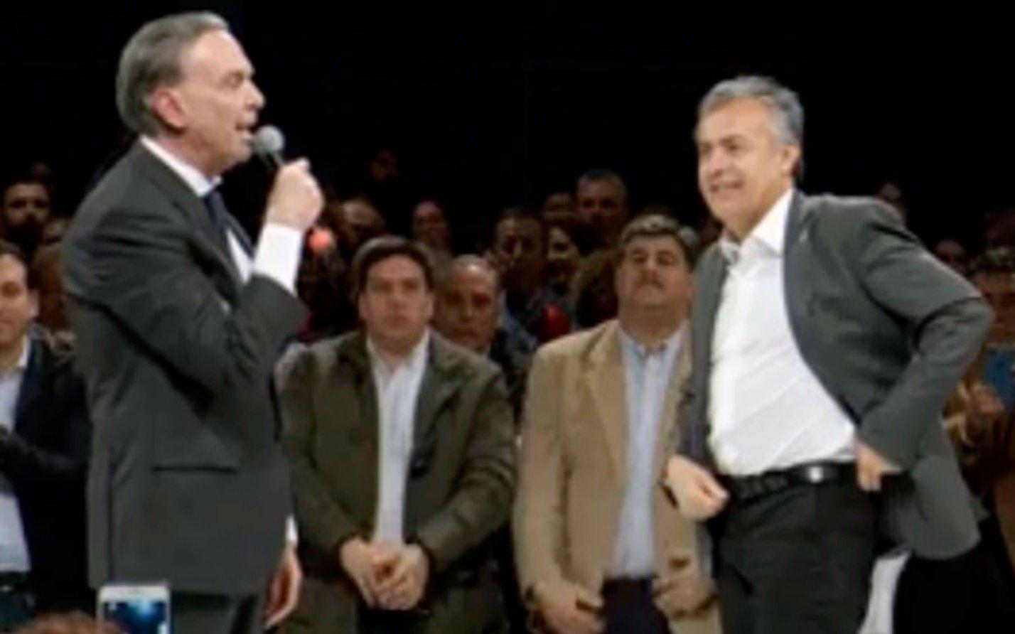 Cornejo y Pichetto salieron en defensa de Macri tras dichos de Carrió