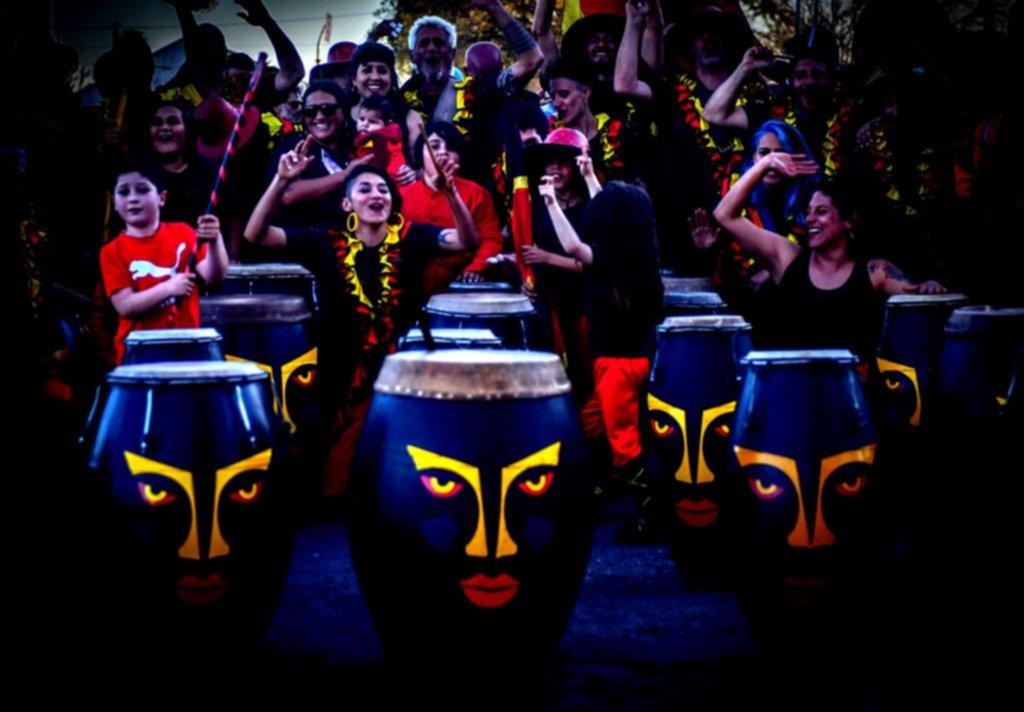 La Plata en imágenes: calentando tambores