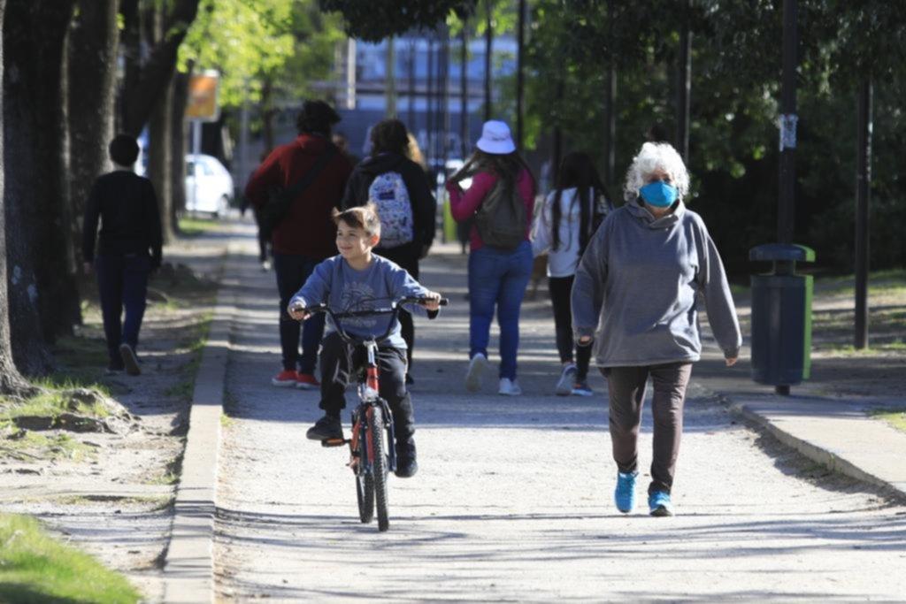 La Plata en imágenes: un poco de aire libre