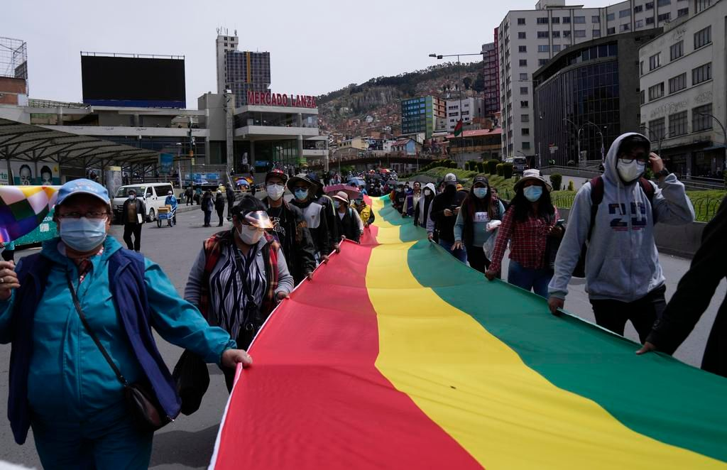 Protestas en Bolivia: movilizados contra el Gobierno