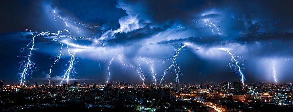 País tormenta: en los últimos 50 años crecieron los días de descargas eléctricas