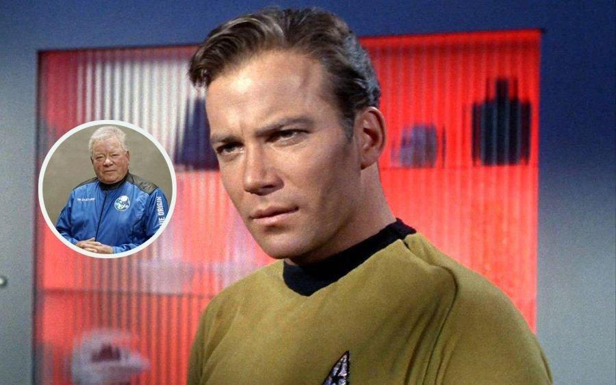 William Shatner, el Capitán Kirk en Star Trek, llegó al espacio y emocionó a todos