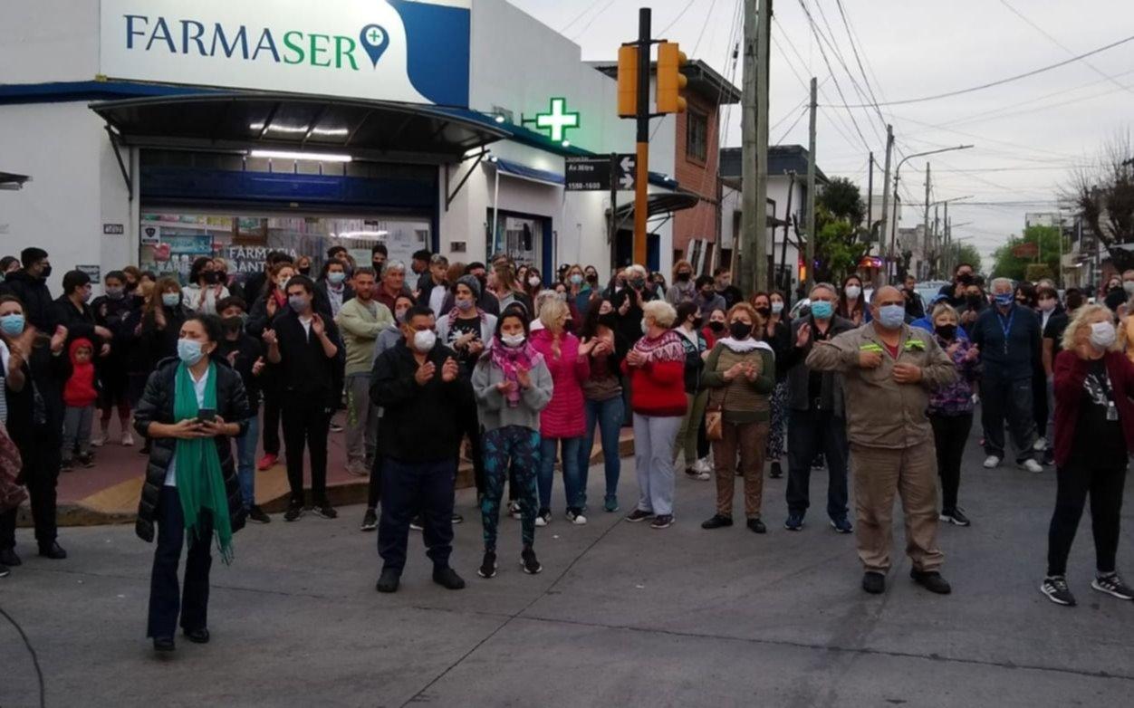 Fuerte pedido de Justicia en Quilmes por el crimen de Lucas