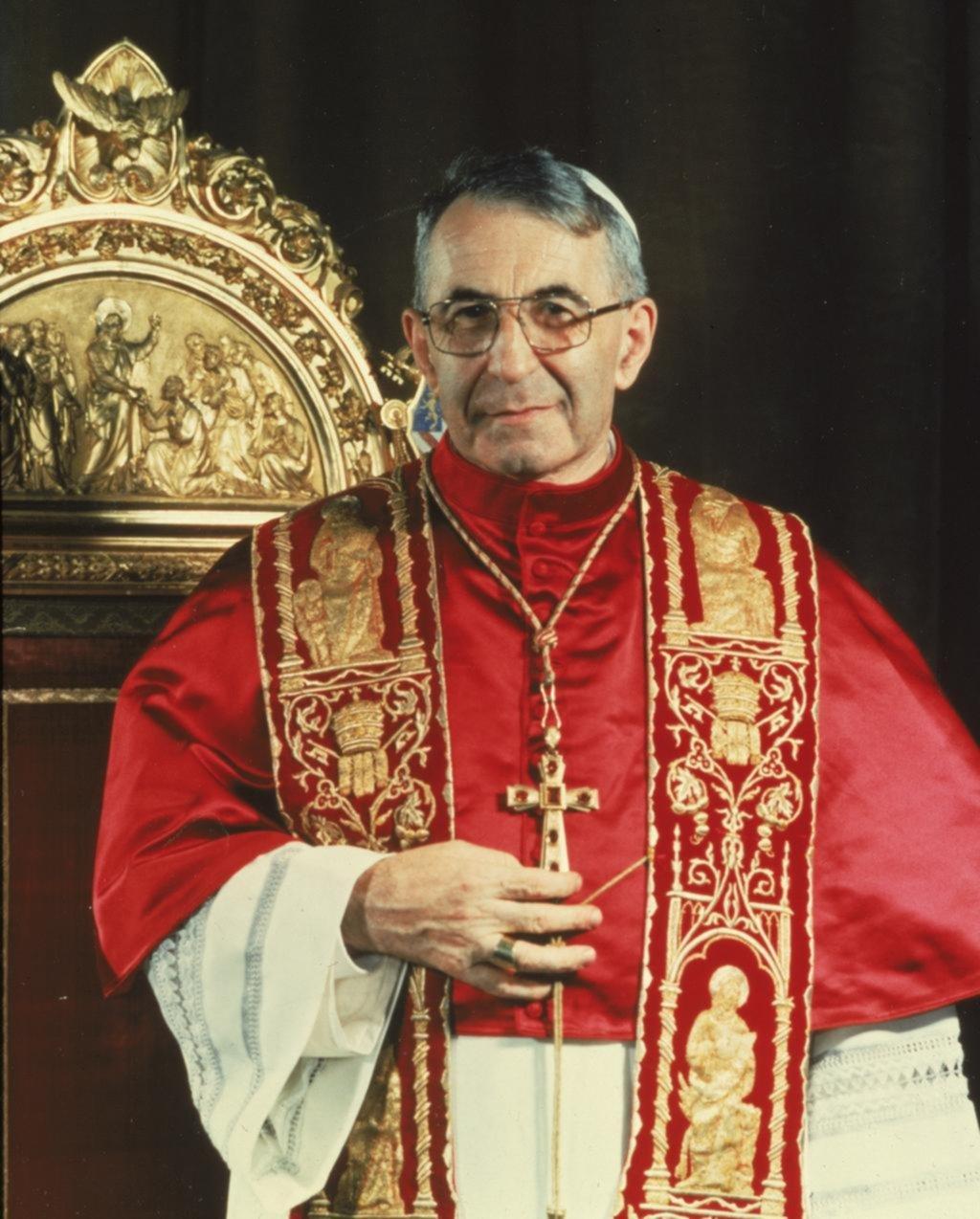 Juan Pablo I, el Papa que reinó 33 días, será beato