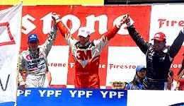 TC: Rossi ganó y es subcampeón
