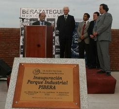 Inauguraron nuevo parque industrial en El Pato