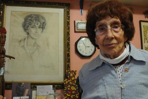 Falleció la poeta y novelista platense Aurora Venturini