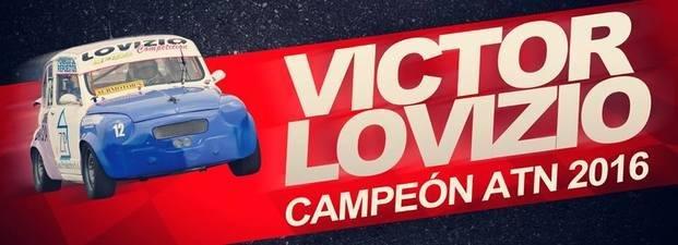 Victor Lovizio Campeón de Fiat 600 ATN