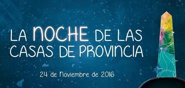 """Lanzan """"La Noche de las casas de provincia"""""""