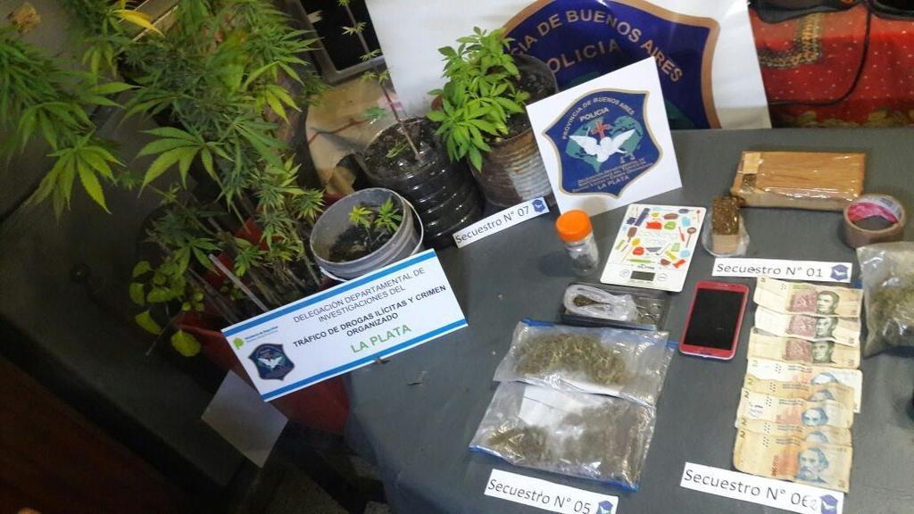 Más marihuana casera y cocaína trucha en el negocio local de la droga