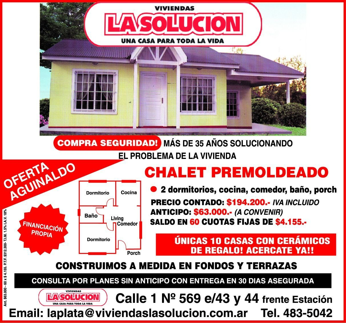 La solución: una casa para toda la vida